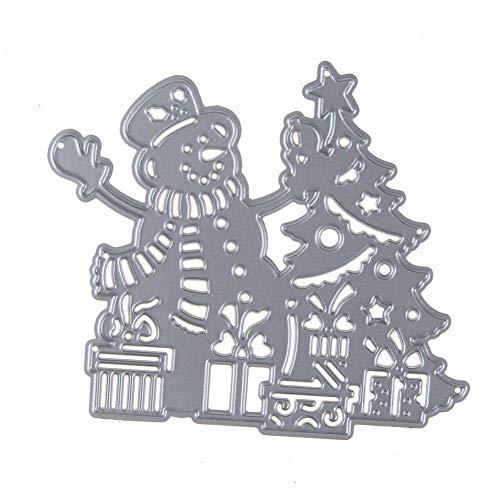 PIXIEY DIY snijden matrijs Metaal Staal Snijden Dies Kerstboom Frame Stencil Voor Het maken van Diy Scrapbooking Papier Album Kaart Embossing Dies Ambachten
