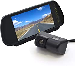 Vardsafe VS302K Replacement Rear View Backup Camera & 7 Inch Clip-on Mirror Monitor for Ford Transit Connect (2010-2018)