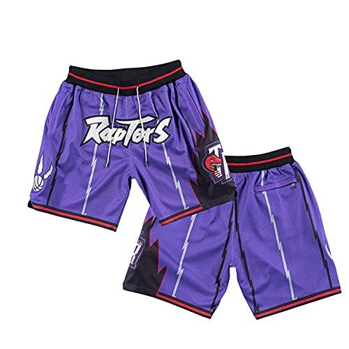 Trnt R - Camiseta de baloncesto y pantalones cortos bordados, sin mangas, para hombre, retro, pantalones cortos deportivos de malla sueltos XXL