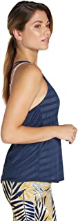 Rockwear Activewear Women's Challenge Burn Out Singlet from Size 4-18 for Singlets Tops
