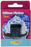 Dekoback Glitzer Flakes, blau, 3er Pack (3 x 1,5g) -