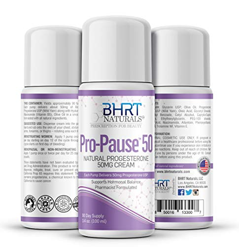 Progesterone Cream 5000mg Bioidentical Progesterone USP Natural - 90 Day Supply, USA Made, Pharmacist Formulated Paraben-Free, Soy-Free & Non-GMO Menopause Relief – TTC PCOS Supplement