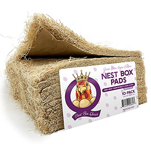 Excelsior Nest Box Pads for Hens - 13' x 13' (10 Pack)