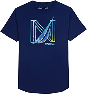 Nautica Baby Toddler Boys' Short Sleeve Graphic T-Shirt