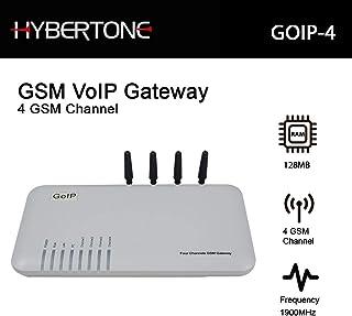 Quad Band GSM 4 Gateway 4 Channel GSM Voip Gateway Goip