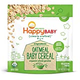 Happy Baby Organics Clearly Crafted Baby Cereal, Oatmeal, 7 Ounce (Pack of 1)