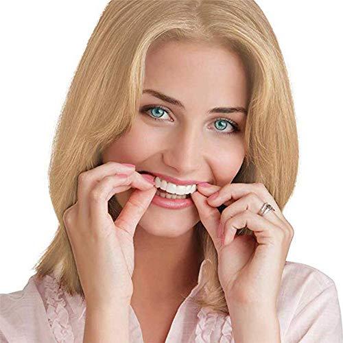 Heizung Perfect Smile ZäHne Snap-On Braces Instant Perfekte Smile Comfort Fit Flex Zähne Veneers Einheitsgröße Bequemes Deck- Und Bodenfurnier 1 Paar