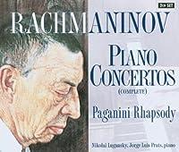 ラフマニノフ:ピアノ協奏曲全集(2枚組)