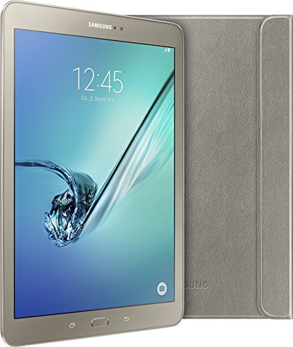 Samsung Galaxy Tab S2 Gold Edition 24,6 cm (9,7 Zoll) Tablet-PC (Quad-Core, Android 5.0) gold inkl. Samsung Book Cover - Limited Edition