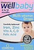 Vitabiotics Wellbaby Multivitamin Drops, 30 ml