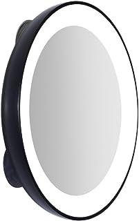 Zadro - Mini espejo con aumento 15 X «Nueva Generación» con luz LED