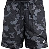 Nike Flow Camo Shorts (L, Black/White)