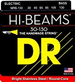 DR Strings Hi-Beam - Stainless Steel Round Core Medium 6 String 30-130