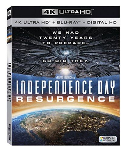 Independence Day Resurgence (4K UHD + Blu-ray + Digital HD)