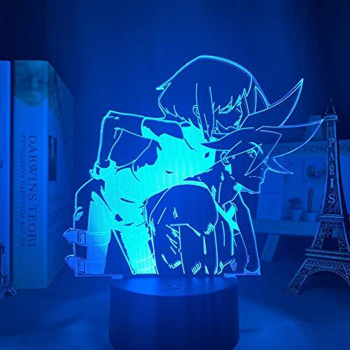 Niño Dormir Cama Dormitorio Decoración Iluminación LED Noche Luz 3D Anime Niños Dormitorio Decoración Noche Luz Regalo Cumpleaños Comic Light lámpara ERJIE