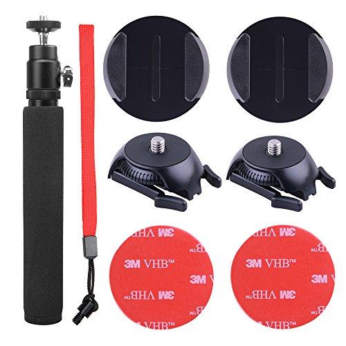 Holaca 360Selfie-Set, Objektivdeckel, Reisenhülle, für Samsung Gear 360VR Kamera