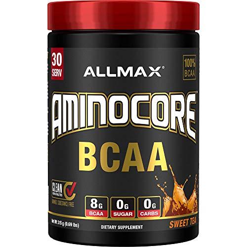 AllMax Nutrition Aminocore BCAA, Sweet Tea, 407 g