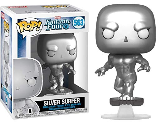 Funko Pop Silver Surfer (Los Cuatro Fantásticos 563) Funko Pop Los Cuatro Fantásticos