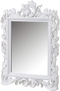 Espejo Cornucopia Blanco de Polipropileno clásico para