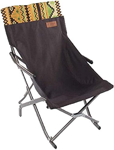 ANHPI Portable Chaise Pliante Chaise Extérieure Tabouret Camping Chaise De Plage Chaise De Pêche Tabouret Chaise De Chaise Tabouret,B