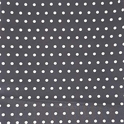 Grau Weiß Gepunktet und weitere Muster Stoffe online auf