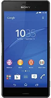 Sony Xperia Z3 D6653 GSM Cellphone Unlocked, International Version No Warranty, Black
