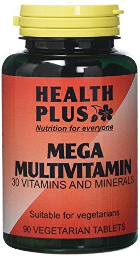 Health Plus Mega Multivitamin One-a-day Multivitamin Supplement - 90 Tablets