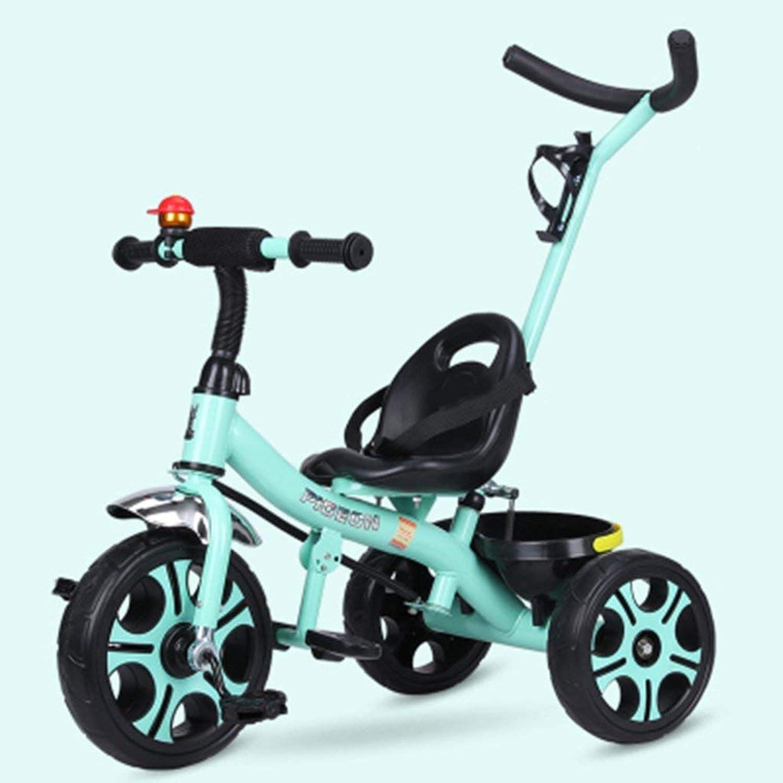 XP Kinderwagen-Baby Trolley 1-6 Jahre alt Leichtbau Fahrrad Nicht-aufblasbare explosionsgeschützte Titan Leere Rad mit Korb Kinderwagen