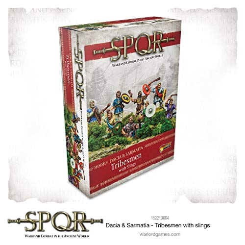 Warlod Games, SPQR: Dacia & Sarmatia - Dacian Tribesmen with Slings