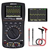 Updated Oscilloscope Multimeter 2 IN 1,KKmoon LED Handheld Oscilloscope Multimeter with 2.5 Msps high sampling 2.4 Inches Color Screen Automatic Waveform Capture Function DC/AC Voltage/Current Test