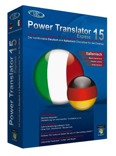 Power Translator 15 Express - Deutsch-Italienisch