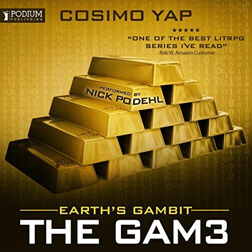 Earth's Gambit audiobook cover art