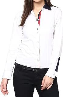 Dazzio Women's Slim Fit Cotton Formal Shirt (Please Refer Size Chart)
