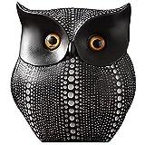 Adornos de resina de búho nórdico, Creatividad animal, Arte Viaje de TV Mueble de TV Porche Home Soft Decorative Crafts