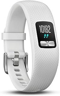 Garmin Vivofit 4 - Reloj  Fitness Rastreador, Unisex, Blanco