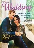 Royal Wedding Prince Harry & Meghan Markle Magazine Book Collectible