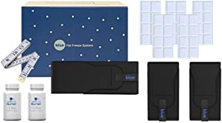 Blue - Fat Freeze System | Home Fat Cell Freezing Kit - Cold Body Sculpting Wrap Belt