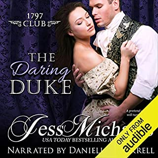 The Daring Duke audiobook cover art