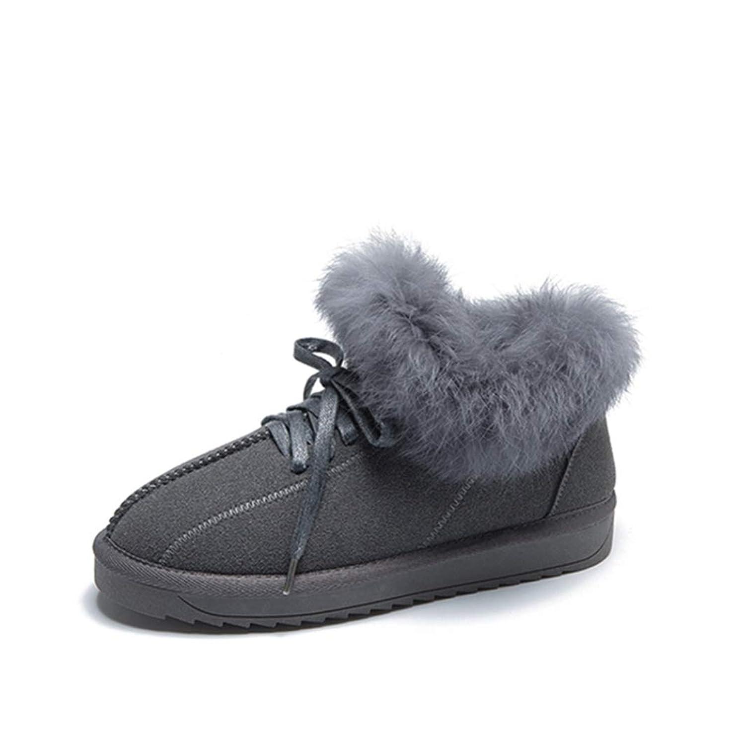 イヤホンボクシング伴うレディース 綿靴 雪靴 ブーツ ブーティ ブーツ 雪 レディース ムートンブーツ 欧米風 スノーブーツ 滑らない もこもこ 歩きやすい 裏ボア 毛皮ブーツ 防滑 ブーツ レディース 防寒 ウインターブーツ あったか