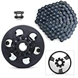 Centrifugal Clutch, Go Kart Clutch 3/4' Bore 10 Tooth for #40/41/420 Chain, Fits for Mini Bike, Go Kart, predator 212, Lawnmower and Honda GC GX 2-6.5HP Engine