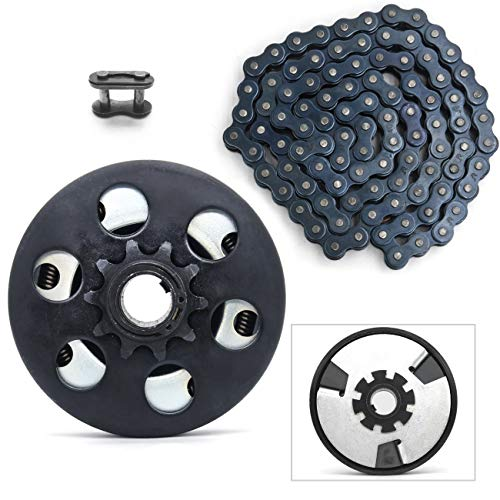 Centrifugal Clutch, Go Kart Clutch 3/4' Bore 10 Tooth for #40/41/420 Chain, Fits for Mini Bike, Go Kart, predator 212, Lawnmower and Honda GC GX 2-6.5HP Engine