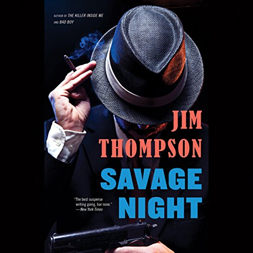Savage Night audiobook cover art