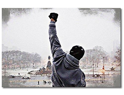 """WandbilderXXL ® Leinwandbild \""""Rocky Moment\"""" 120x80cm - in 6 verschiedenen Größen. Gedruckt auf Leinwand und fertig gespannt auf Keilrahmen. Leinwandbilder zu Top Preisen."""