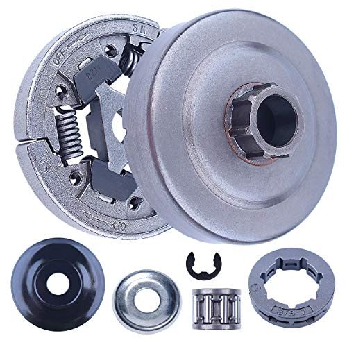 Mtanlo 3/8 Clutch Drum Rim Sprocket Needle Bearing Kit for Stihl 044 046 MS440 MS460 MS461 MS441 MS361 MS362 MS362C Chainsaw # 1128 007 1000