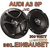 Lautsprecher - JVC CS-J620-16cm Koaxe für Audi A3 8P - JUST SOUND best choice for caraudio