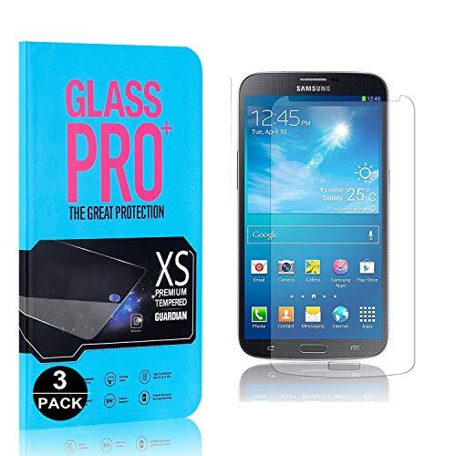 Bear Village Protector de Pantalla Galaxy S4, 9H Cristal Templado, Anti-Golpe, 3D Touch Protector de Pantalla para Samsung Galaxy S4, 3 Unidades