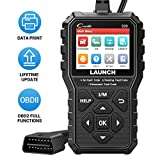LAUNCH OBD2 Scanner CR529 Code Reader with Enhanced Full OBD2 Function, Turn Off Check Engine Light CAN Scan Tool, One-Click I/M Readiness Diagnostic Tool Lifetime Free Update
