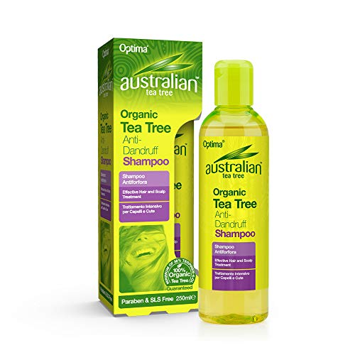 Optima Australian Tea Tree Anti-Roos Shampoo, 250 ml