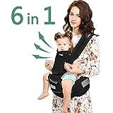 Windsleeping Porta bebé con capucha para todas las estaciones,Mochila Porta...