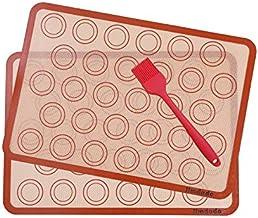 Macarons Alfombrillas de silicona para hornear (42 x 29,5 cm) (2pcs)